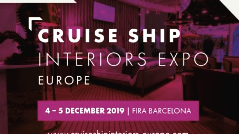 Cruise ship interiors expo Europe 2019